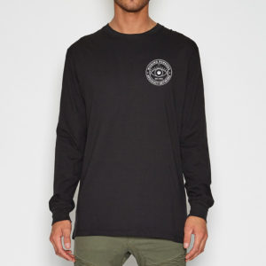 Black long sleeve - front