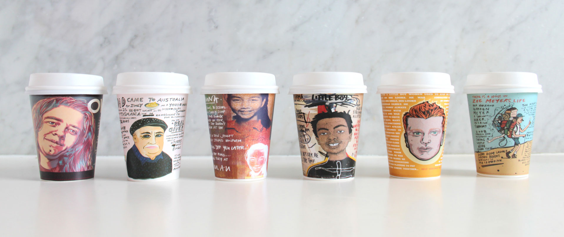 Unmissable cups